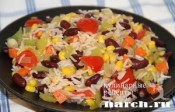 Рис с овощами по-мексикански