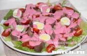"""Салат с языком и картофелем """"Русский аппетит"""""""