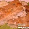 Рыба под хлебной корочкой по-рыбацки