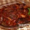Опята, маринованные в томатном соусе