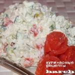 Салат из красной рыбы с рисом «Флагман»