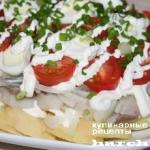 Салат с сельдью «Варна»