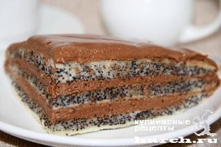 Маковый торт Анна