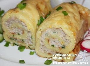 Свекольные бочонки с куриным фаршем – кулинарный рецепт
