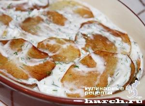 Рецепт картошка с чесноком и майонезом