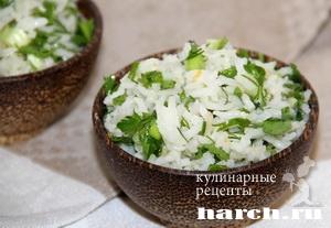 aromatniy ris s zeleniu 1 3 Ароматный рис с зеленью