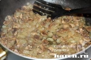 myasnaya zapekanka s vermisheliu i gribami 04 Мясная запеканка с вермишелью и грибами