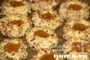 pechenie s orehami i jamom naperstok 09 Печенье с орехами и джемом Наперсток
