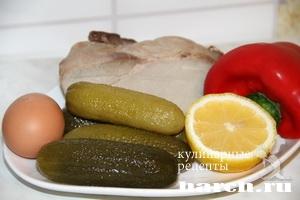 salat is svinini sadaf 7 Салат со свининой Садаф