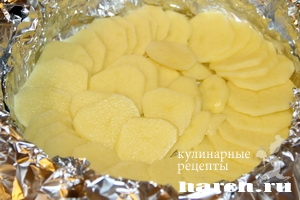 zapekanka is myasnogo farsha v folge lubitelskaya 01 Запеканка из мясного фарша в фольге Любительская