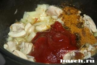 kabsa s kuricey 04 Кабса с курицей