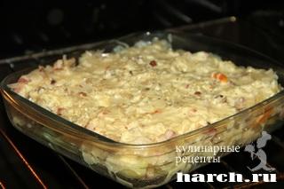 kartofelnaya zapekanka s kvashenoy kapustoy 71 Картофельная запеканка с квашеной капустой