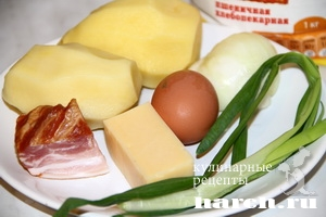kartofelnie sicheniki s lukom i bekonom 02 Картофельные сиченики с луком и беконом