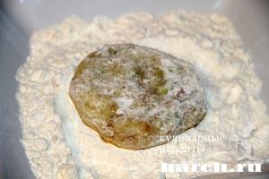 kartofelnie sicheniki s lukom i bekonom 07 Картофельные сиченики с луком и беконом