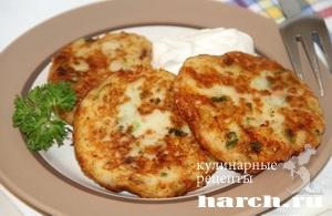 kartofelnie sicheniki s lukom i bekonom 10 Картофельные сиченики с луком и беконом