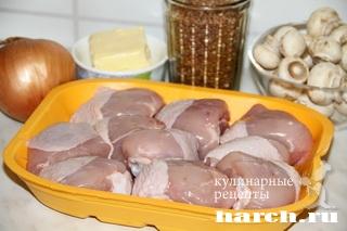 kurica s grechkoy i gribami po russky 02 Курица с гречкой и грибами по русски