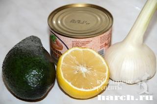 pashtet is pecheni treski s avokado 5 Паштет из печени трески с авокадо