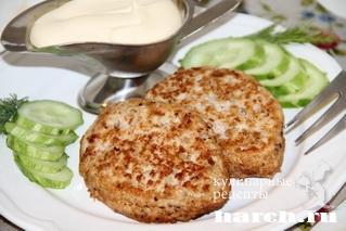 shnicel is indeyki s grechkoy i pekinskoy kapustoy 6 Шницель из индейки с гречкой и пекинской капустой