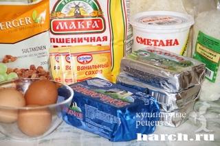 smetanniy pirog s tvorogno kokosovoy nachinkoy 02 Сметанный пирог с творожно кокосовой начинкой