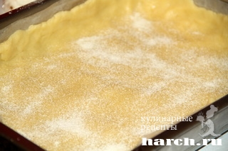 smetanniy pirog s tvorogno kokosovoy nachinkoy 10 Сметанный пирог с творожно кокосовой начинкой
