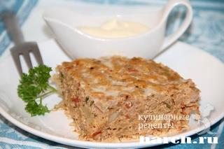 zapekanka s myasnim farshem risom kapustoy 10 Запеканка с мясным фаршем, рисом и капустой