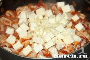 kalmari s fetoy i tomatami po grechesky 4 Кальмары с фетой и томатами по гречески