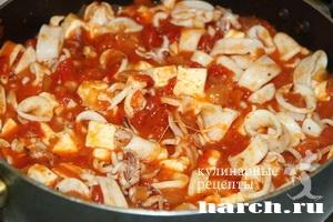 kalmari s fetoy i tomatami po grechesky 5 Кальмары с фетой и томатами по гречески