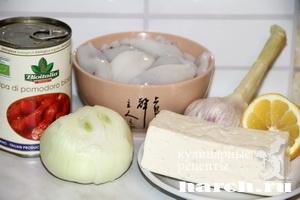 kalmari s fetoy i tomatami po grechesky 7 Кальмары с фетой и томатами по гречески