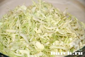 kapustniy salat s kukurusoy i ananasom 2 Салат из капусты с кукурузой и ананасами Гаврош