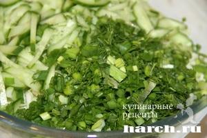 kapustniy salat s kukurusoy i ananasom 3 Салат из капусты с кукурузой и ананасами Гаврош