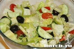 salat s farshirovanimi krabovimi palochkami elegiya 5 Салат с фаршированными крабовыми палочками Элегия