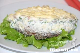 salat s konservirovanoy riboy i fasoliu 6 Салат с консервированной рыбой и фасолью Лаура
