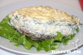 salat s konservirovanoy riboy i fasoliu 7 Салат с консервированной рыбой и фасолью Лаура