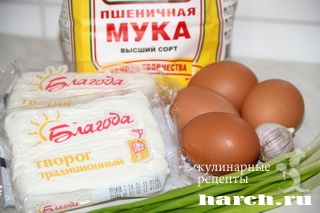 sirniki s zelenim lukom 6 Сырники с зеленым луком