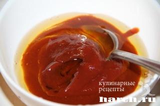 zakuska is seldi s tomatami po ispansky 4 Закуска из сельди с томатами по испански
