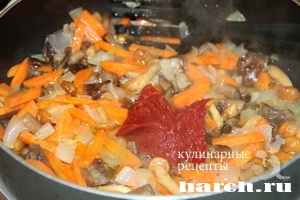 shaveleviy sup s frikadelkami i tomatom 04 Щавелевый суп с фрикадельками и томатом