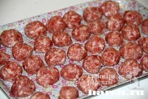 shaveleviy sup s frikadelkami i tomatom 06 Щавелевый суп с фрикадельками и томатом