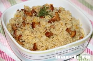 yachnevaya kasha s gribami 10 Ячневая каша с грибами