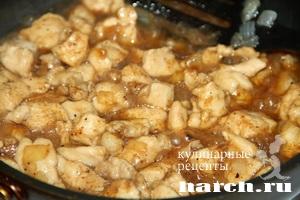 konvertiki is lavasha s kuricey po kitaisky 04 Конвертики из лаваша с курицей по китайски