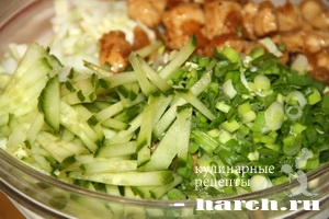 konvertiki is lavasha s kuricey po kitaisky 07 Конвертики из лаваша с курицей по китайски