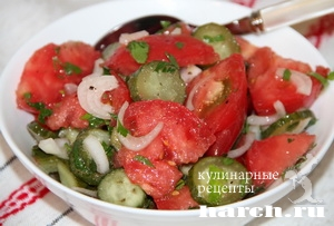 salat is pomidorov kolomenskiy 5 Салат с помидорами Коломенский