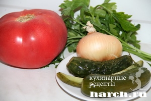 salat is pomidorov kolomenskiy 7 Салат с помидорами Коломенский