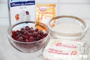 tvorogno yagodnoe morogenoe 021 Творожно ягодное мороженое