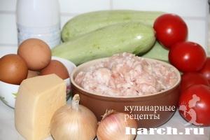 zapekanka s myasnim farshem i kabachkami 02 Запеканка с мясным фаршем и кабачками