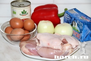 Чихиртма из курицы с овощами