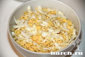 salat is kurici s kuragoy venskiy 3 Салат из курицы с курагой Венский