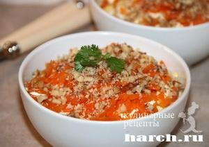 salat is kurici s kuragoy venskiy 5 Салат из курицы с курагой Венский