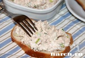 Салат паста из тунца