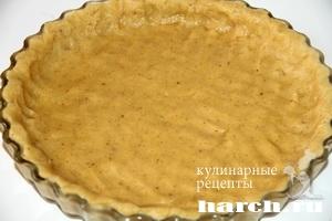 Песочно миндальный пирог со сливами