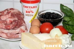Запеченная свинина Милан